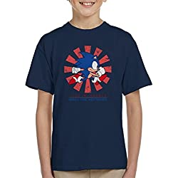 Cloud City 7 Sonic The Hedgehog Retro Japanese Kid's T-Shirt