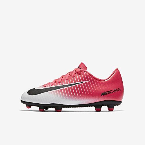 Nike Unisex-Kinder Jr Mercurial Vortex Iii Fg Fußballschuhe Pink (Racer Pink/black White White)