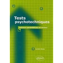 Tests Psychotechniques Concours Paramedicaux & Sociaux
