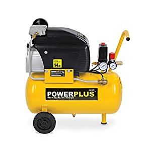 PowerPlus 24L Öl geschmiert 7,8CFM, 8bar (116PSI) Air Kompressor 240V POWX1735