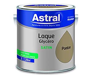 ASTRAL 5213418 Laque glycéro 2 L Satin Coquille d'oeuf