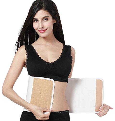 Postpartale Unterstützung/Postpartaler Trimmer Gürtel/Korsett, Taille/Bauchgurt & Rückenunterstützung - NEOtech Care (TM) Marke - Beige...