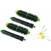 IRobot Setola Spazzola et flessibile Beater Brush et spazzola laterale 3 a braccio singolo per iRobot Roomba Serie 500 530 535 540 510 550 560 570 580 610 Robot Vacuum
