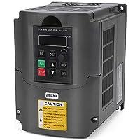 VFD 220V 2.2KW 3hp Variador de frecuencia variable, craftsman168 CNC VFD Convertidor inversor de