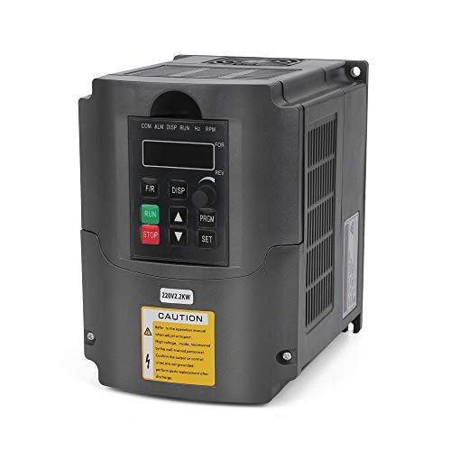 VFD 220V 2.2KW 3hp Variador de frecuencia variable, craftsman168 CNC V