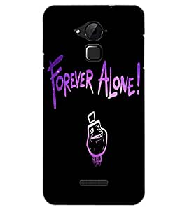 COOLPAD NOTE 3 FOREVER ALONE Back Cover by PRINTSWAG