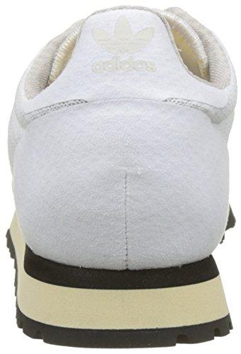 adidas Unisex-Erwachsene Haven Sneaker Weiß (Footwear White/footwear White/core Black)