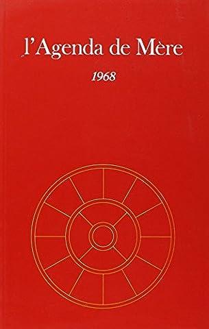 AGENDA DE MERE T09 1968 - NE