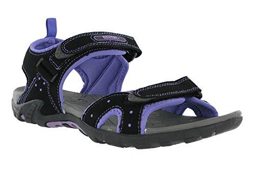 Northwest , Sandales pour femme 0 noir/violet