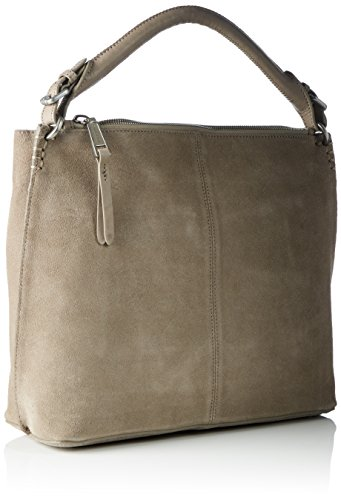 Marc O'Polo - 70117431201300 Eight, Borsa a spalla Donna Grigio (Light Grey)