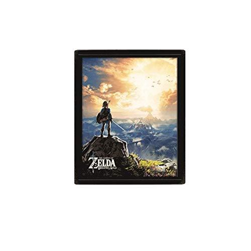 Poster 3D The Legend of Zelda Sunset