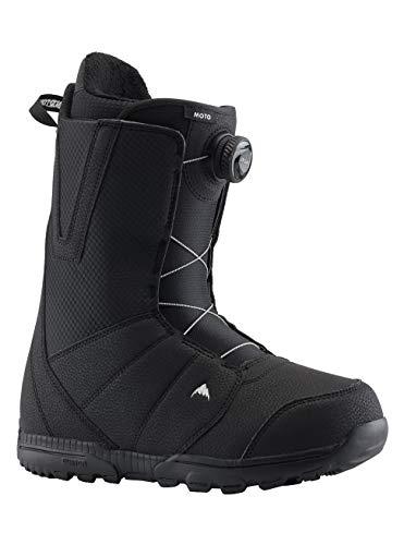 Burton Herren Moto Boa Snowboard Boot, Schwarz (Black), 45 EU -