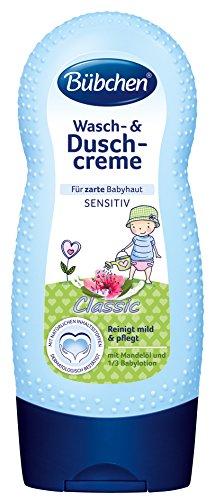 Bübchen Classic Wasch- und Duschcreme, 1er Pack (1 x 230 ml)