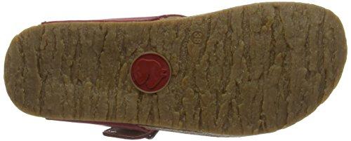 Haflinger  Conny, Mules femme Rouge - Rot (Port 1511)