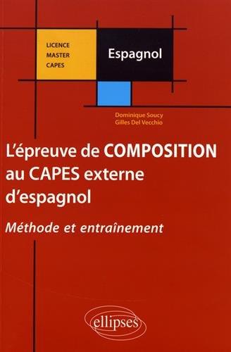 L'ÉPREUVE DE COMPOSITION AU CAPES EXTERNE D'ESPAGNOL
