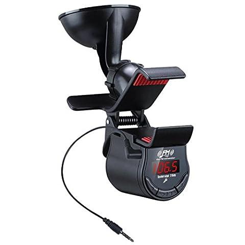 Bescita KFZ Auto Kit FM Transmitter Freisprecheinrichtung Ladegerät MP3 Player