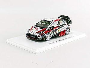 SPARK-Coche en Miniatura de colección, S5958, Color Blanco/Negro/Rojo
