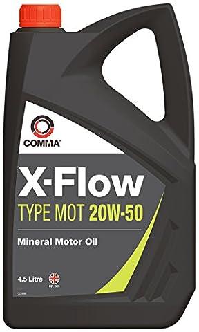 Comma XFMOT1G X-Flow Type Mot 20W50, 4.5 Liter