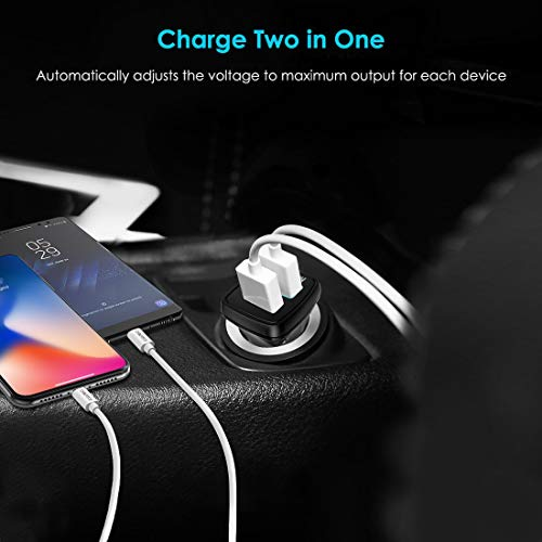 USB Type-C Car Charger-CHOE 30W USB 2.0 to Type C Quick Charge 2.0 Adaptive Fast Car Charger for Lumia 950xl /950,Nexus 5x/Nexus 6p,Apple New Macbook 12 Inch A1534,Chromebook Pixel 2 C1501W