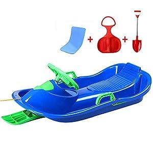 XX-Snow-Sleds Schnee Schlitten Spielzeug Kunststoff Schlitten große Kunststoff Schlitten mit Seil Kinder Erwachsene rodelschlitten Winter Schnee