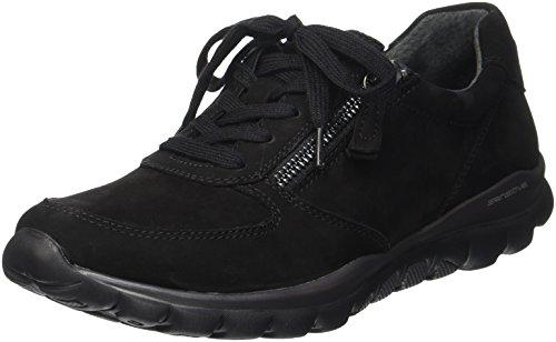 Gabor Shoes Damen Rollingsoft Derbys, 47 Schwarz, 40 EU