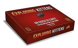 Asmodee Italia-Exploding Kittens-Edición Italiana, 8540