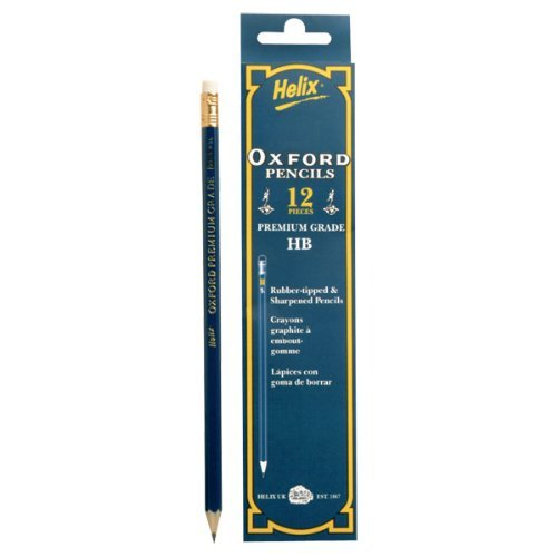 Oxford HB Rubber Tipped Pencils ...