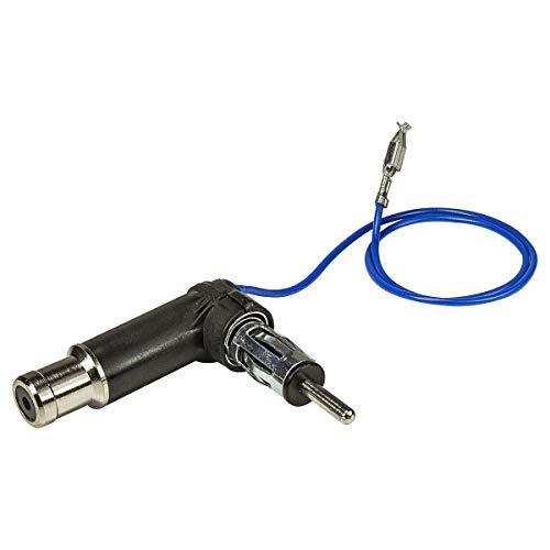 tomzz Audio 1557-003 Antennenadapter mit Phantomeinspeisung passend für Audi, Seat, Skoda, VW bis 2005 auf DIN oder ISO SMD Kurze Version