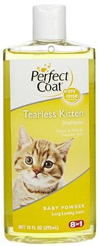 Perfect Coat Tearless Kitten Shampoo - Baby Powder 10 Oz