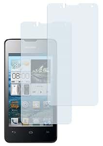 2x mumbi Displayschutzfolie Huawei Ascend Y300 Schutzfolie
