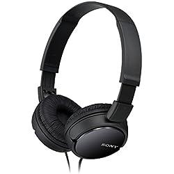 [Cable] Sony MDR-ZX110 - Auriculares cerrados, negro