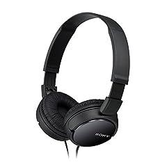 Idea Regalo - Sony MDR-ZX110 - Cuffie, Frequenza 12 Hz-22 kHz, 1000 mW, Nero