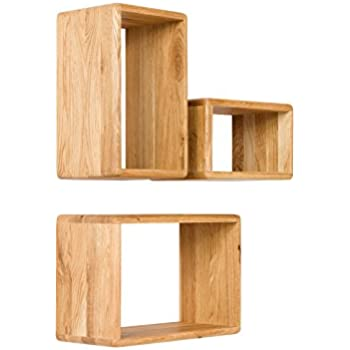 massivum regal keno 45x30x20 cm eiche braun ge lt k che haushalt. Black Bedroom Furniture Sets. Home Design Ideas