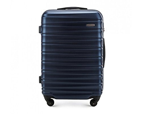 Wittchen valigia media | colore: blu | materiale: abs | dimensioni: 26x67x45 | peso: 3,5 kg | capacità: 65 l - 56-3a-312-90