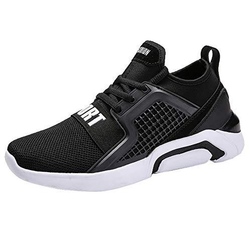 BaZhaHei-Zapatillas, Calzado Deportivo de Mujer Zapatillas para Correr al Aire Libre Amantes Unisex Zapatillas Deportivas para Hombres Zapatos de Red para Mujer, Ligeras, Deportivas, de Viaje