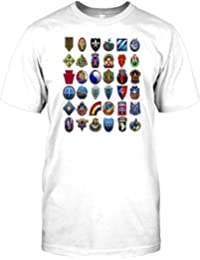 US Infantry Divisions Collage - 101st - 82nd Mens T Shirt - Military