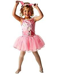 erdbeerloft - Mädchen Winnie Pooh- Schweinchen Piglet Babe Ballerina Kleid, rosa, 3-4 Jahre