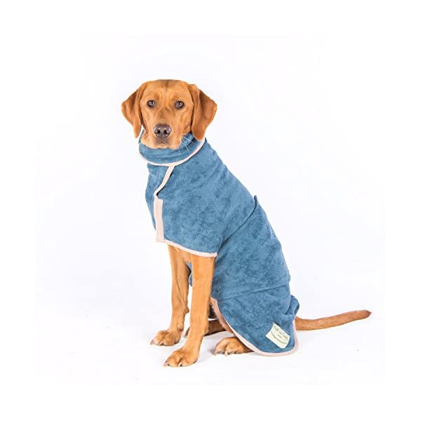 Ruff and Tumble Dog Drying Coat - Classic Collection 6