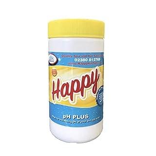 Happy Hot Tubs Quality PH + Plus Hot Tub Swimming Pool Soda Ash Increaser Tubs Spa, 1 kg
