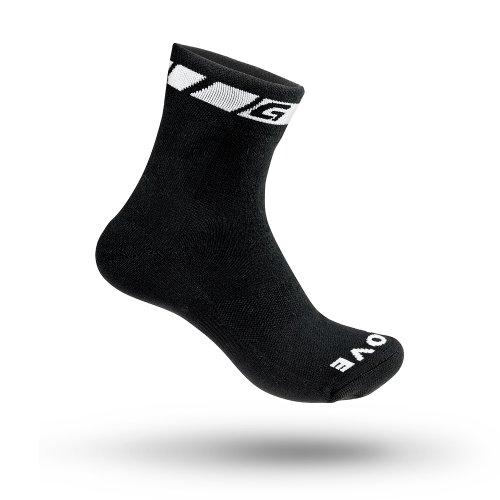 GripGrab Radsport Spring/Fall Übergangs Socke,Schwarz,L (EU 44-47)