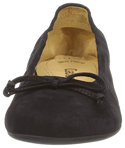 Gabor Shoes (24.120.14), Ballerines Bout Fermé Femme Noir (Black)