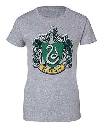 Harry Potter Slytherin Logo Damen T-Shirt Large