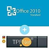 Microsoft Office 2010 Standard ISO USB. 32 bit & 64 bit - Original Lizenzschlüssel mit bootfähigen USB Stick von - TPFNet