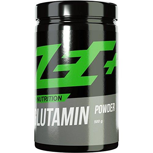 ZEC+ GLUTAMIN | reines L-Glutamin Pulver | fördert die Darmgesundheit und Regeneration | unterstützt das Immunsystem | 500g Pulver