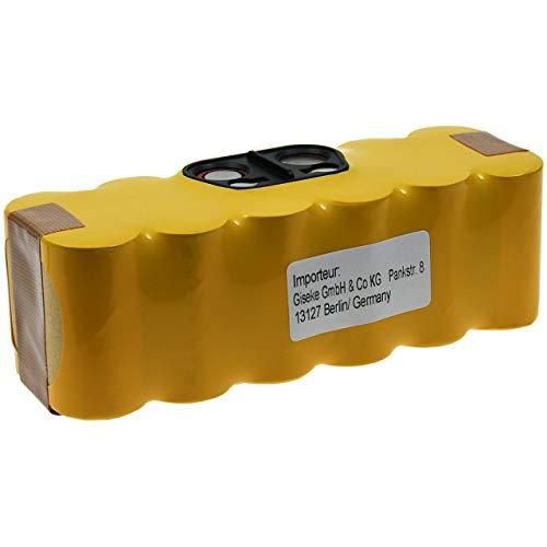Akku für Saugroboter iRobot Roomba 620, 14,4V, NiMH