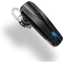 Auriculares Bluetooth, aispeed Auriculares inalámbricos con micrófono para Apple iPhone 6S/6/5S/5 C/5, Samsung Galaxy S5/S4/S3, LG G3 G2, HTC Flex 2 PC Laptop, y otros Bluetooth dispositivo