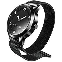 Docooler Lenovo Watch X Plus Dial Romano Sensor de Temperatura de Presión de Aire Luminous Dial Reloj Resistente al Agua Puntero Luminoso Fitness Tracker