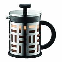 Bodum EILEEN Kaffeebereiter (French Press System, Permanent Filter aus Edelstahl, 0,5 liters) glänzend