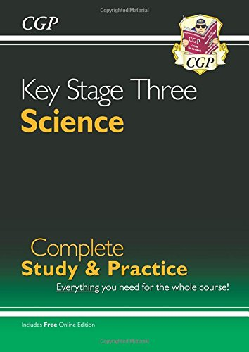 New KS3 Science Complete Study & Practice (with Online Edition): Complete Revision and Practice (Complete Revision & Practice)