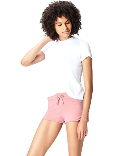 Activewear Shorts Damen, Rosa (Old Rose), 38 (Herstellergröße: Medium)